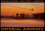 Imperial Airways, &#196;gypten Kunstdrucke von Kerne Erickson