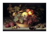 Obstkorb Kunstdrucke von Johannes Bosschaert