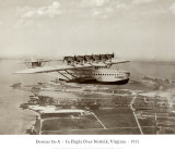 Dormier Do-X, in Flight over Norfolk, Virginia, 1931 Prints