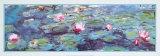 Waterlelies Posters van Claude Monet
