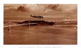 Amelia Earhart en vuelo, de Oakland a Honolulú, 17 de marzo de 1937 Láminas por Clyde Sunderland