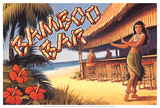 Bamboo Bar, Hawaii Posters