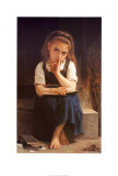 Pause for Thought Posters by William Adolphe Bouguereau