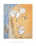 Cisnes Arte por Lindsay Kelsall