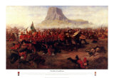 The Battle of Isandhlwana, 1879 Posters by Charles Edwin Fripp
