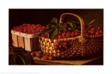 Still Life with Berries Prints by Levi Wells Prentice