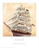 Elissa II Poster by John Douglas