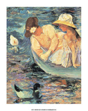 Summertime Art by Mary Cassatt
