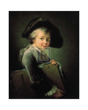 Portrait of the Artist as a Young Man Posters by Francois Hubert Drouais