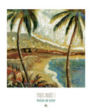Tropic Beauty I Prints by Joel Giovanni