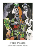 Matador e Femme Nue, 1970 Kunstdrucke von Pablo Picasso