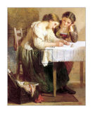 Love Letter Print by H. Lejeune
