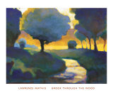 Brook through the Wood Prints by Lawrence Mathis
