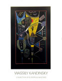 La Tension Double, 1938 Poster by Wassily Kandinsky