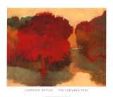 The Lowland Tree Poster by Lawrence Mathis