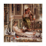 Corner of the Villa Posters by Edward John Poynter