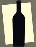 Bottle Silhouette Art