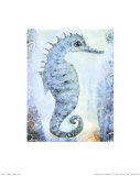 Seahorse Posters by Silvana Crefcoeur