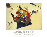 Schwarzes Dreieck, 1923 Lámina por Wassily Kandinsky