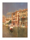 The Grand Canal, Venice Print by Rubens Santoro