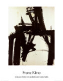 Untitled, 1957 Impresso de peas de colees por Franz Kline