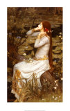 Oph&#233;lie Affiches par John William Waterhouse