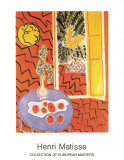 Int&#233;rieur rouge, 1947 Affiche par Henri Matisse