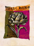 Artichoke Prints by Fred Hill
