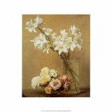 Roses Prints by Henri Fantin-Latour