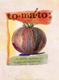 Tomato Prints by Fred Hill