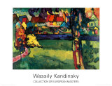 Murnau, 1909 Posters par Wassily Kandinsky