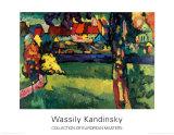 Murnau, 1909 Poster von Wassily Kandinsky