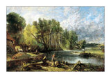 Stratford Mill, 1820 Art by John Constable