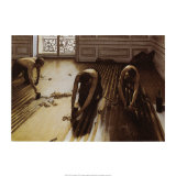 The Floor Scrapers Prints by Gustave Caillebotte