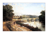 Richmond on Thames Art by Edmund Niemann