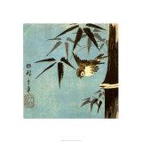 Zonder titel, springend paard Kunst van Ando Hiroshige