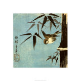 Zonder titel Affiches van Ando Hiroshige