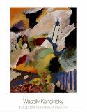Kirche in Murnau, 1910 Posters av Wassily Kandinsky