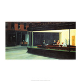 Nighthawks Poster por Edward Hopper