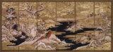 Paravent japonais II Affiche