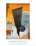 Gebogene Spitze, 1924 Print by Wassily Kandinsky