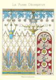 La Flore Decorative, Renonculac Poster