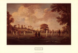 Game of Cricket, 1790 Art