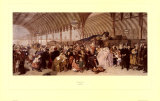 The Railway Station Prints by William Powell Frith