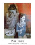Artisten, 1905 Kunstdruck von Pablo Picasso