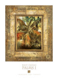 West Indies Palms I Prints by  Augustine (Joseph Grassia)