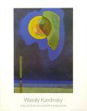 Círculo amarillo Lámina por Wassily Kandinsky