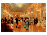 An Elegant Soiree Plakater af Victor Gabriel Gilbert