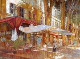 Cafe Primavera Art by Michael Longo