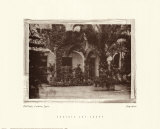 Old Patio, Cordova, Spain Print by  Augustine (Joseph Grassia)